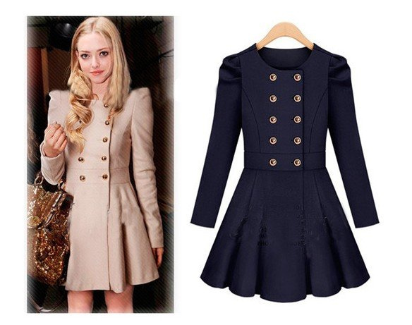 Winter Pea Coat Women