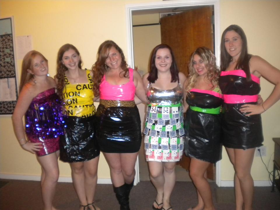 how to make a duct tape dress for abc party how to make a