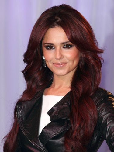 cute-burgundy-hair-color