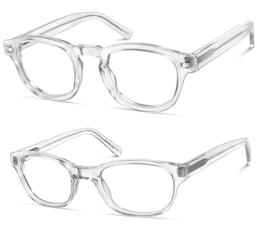 Chic & Successful : Trending: Clear Frame Glasses
