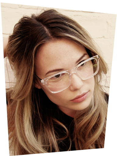 Clear Glasses Frame Trend : Chic & Successful : Trending: Clear Frame Glasses