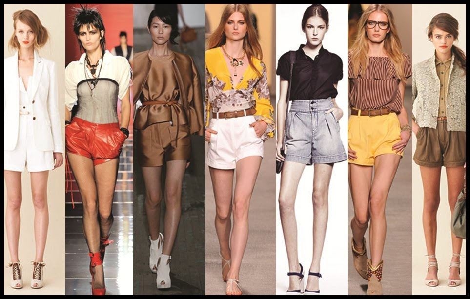 The High Fashion of High-Waisted Shorts | The Fashion Foot
