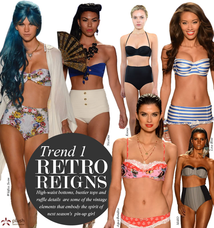 Retro Style Bathing Suits Part - 17: 2013-Swimwear-Trends-Vintage-Retro
