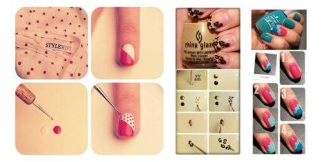 25-Best-Easy-Nail-Art-Tutorials-2012-For-Beginners-Learners-F1