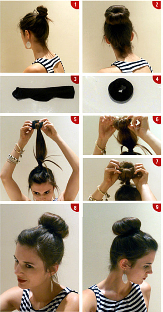 How To Create The Perfect Messy Bun The Fashion Foot