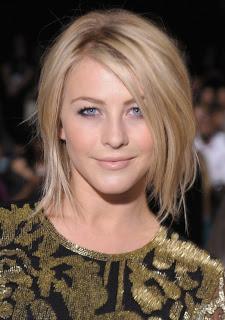 Julianne Hough Shoulder Length Hair Straight Julianne-Hough-Shoulder-Length