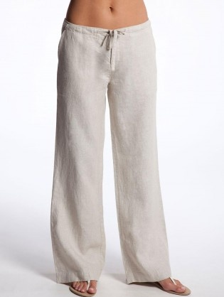 3a3c5a43f3fb The material of most linen pants is purposely thin so you can wear them in the  warm temperatures of summer. This makes a great choice for bottoms on warm  ...