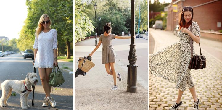 Платья летние с какой обувью носить