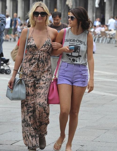 tumblr mnkk82yoOs1rnm60vo1 500   Ashley Benson. Inspired By Ashley Benson   The Fashion Foot