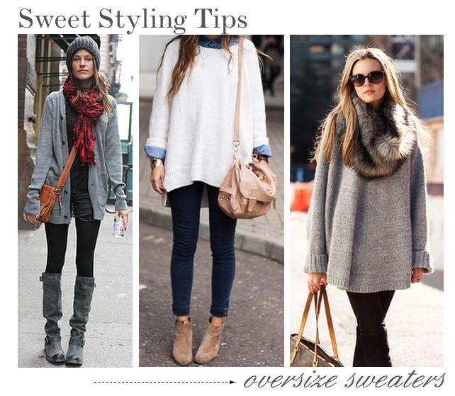Oversized Sweaters for Fall | The Fashion Foot