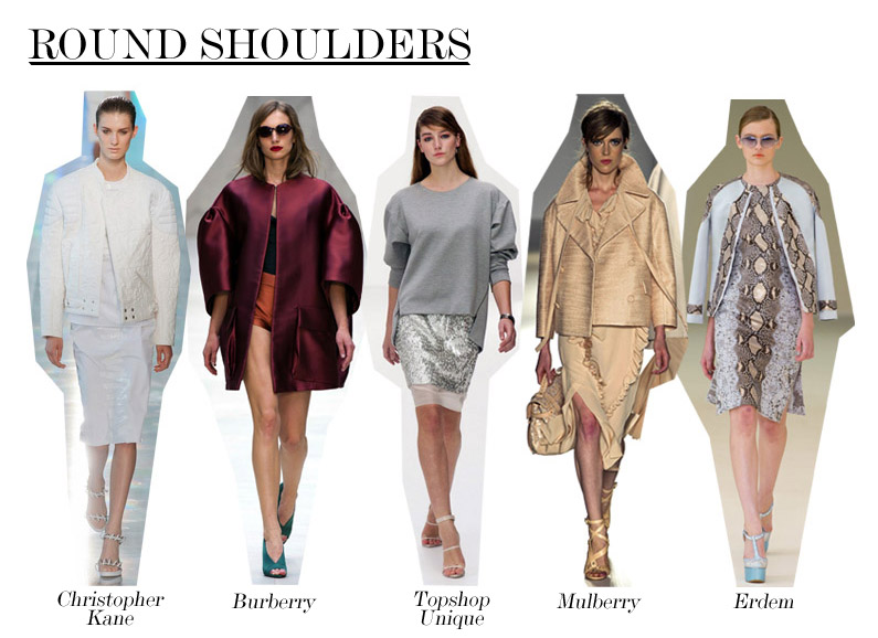 Stylist Pick: Rounded Shoulders | The Fashion Foot