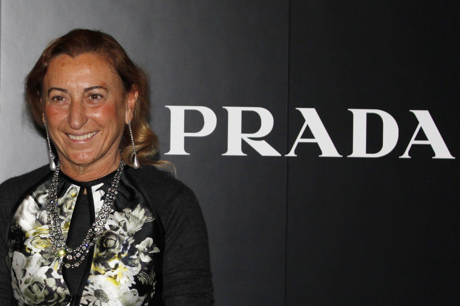 Miuccia Prada Named Co Ceo The Fashion Foot