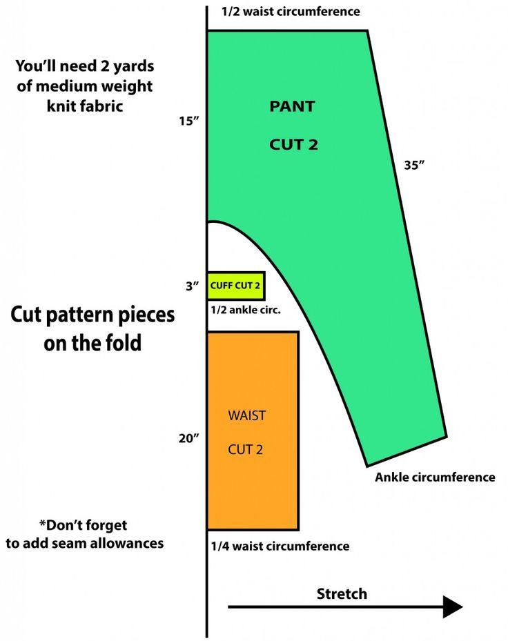 DIY Series: Harem Pants | The Fashion Foot
