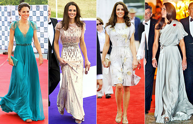 Jenny Packham Discusses Working with Kate Middleton | The Fashion Foot