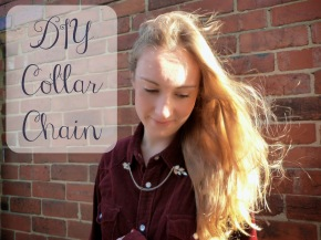 diy collar chain