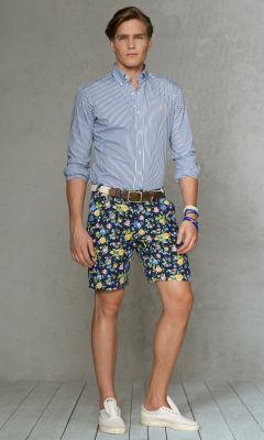 Mens Floral Shorts