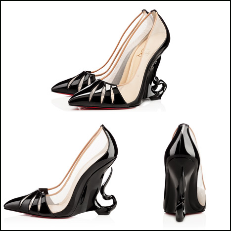 1fc9155e10b Angelina Jolie and Christian Louboutin Design a Pair of Maleficent ...
