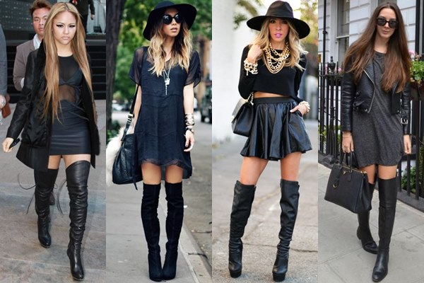 Dresses To Wear With Thigh High Boots - Yu Boots