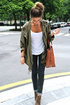 What Can I Wear With A Green Jacket - My Jacket