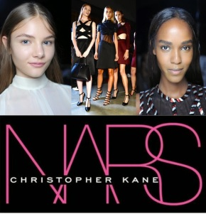 CHRISTOPHER KANE SPRING SUMMER 2015 LONDON FW & sneak of NARS for Christopher Kane