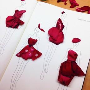 Grace-Ciao-Flower-Petal-Fashion-Illustrations-5-600x600