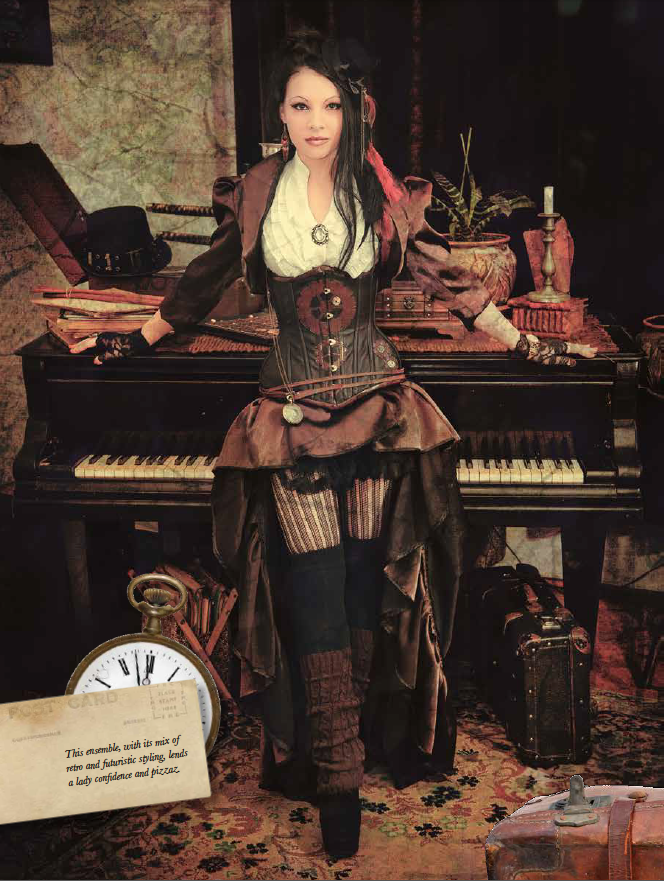 Fangirl Fashion: Steampunk | The Fashion Foot