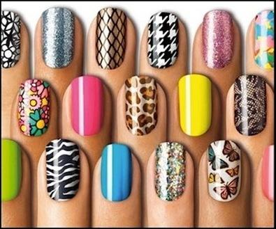 Stick On Nail Art The Fashion Foot