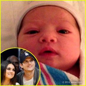 ashton-kutcher-mila-kunis-baby-photo-revealed
