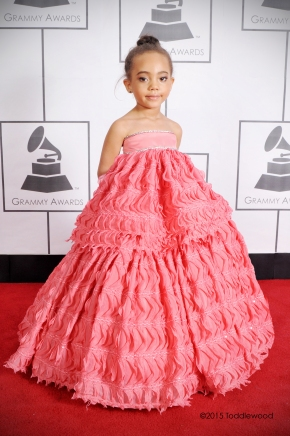Toddlewood Does The Grammys Red Carpet 2015