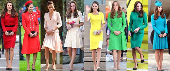 Kate middleton s royal style the fashion foot