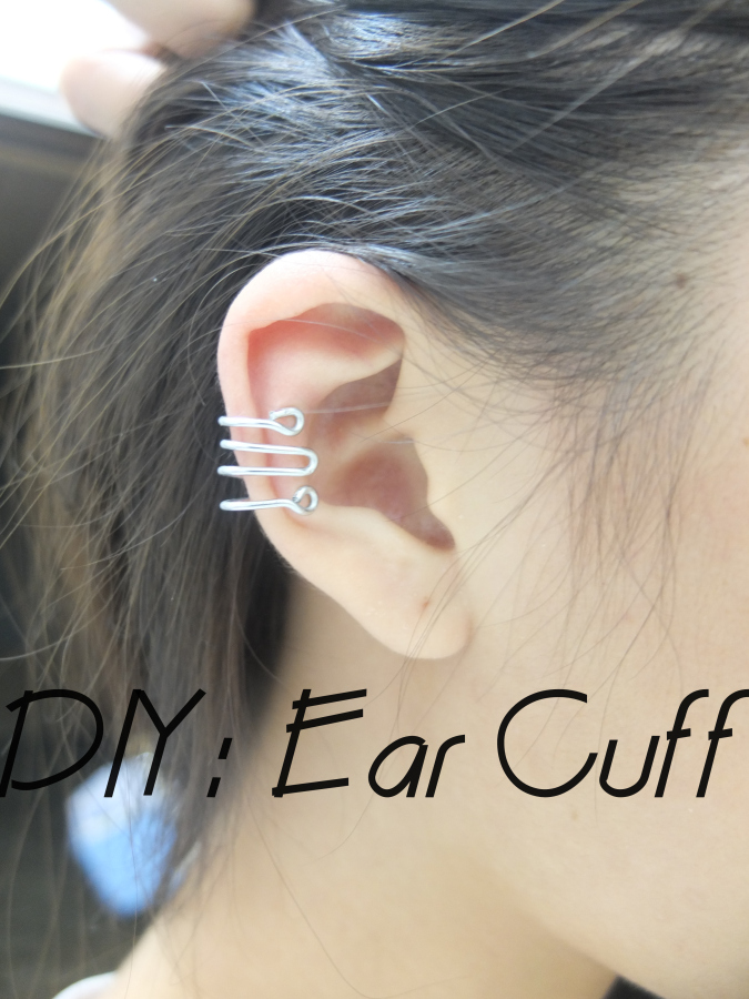 how to put on ear cuffs for unpierced ears