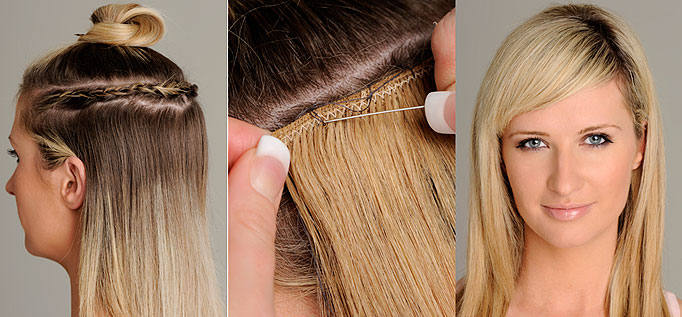 Clip in Hair Extensions Are