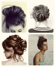 Make it Messy: Perfect Imperfect Hairstyles | The Fashion Foot