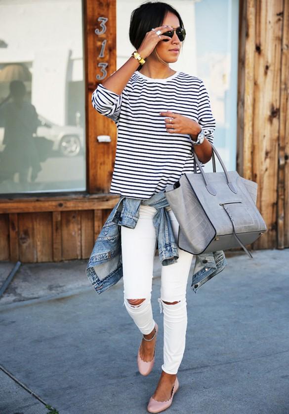 White Pant Outfits | Gpant