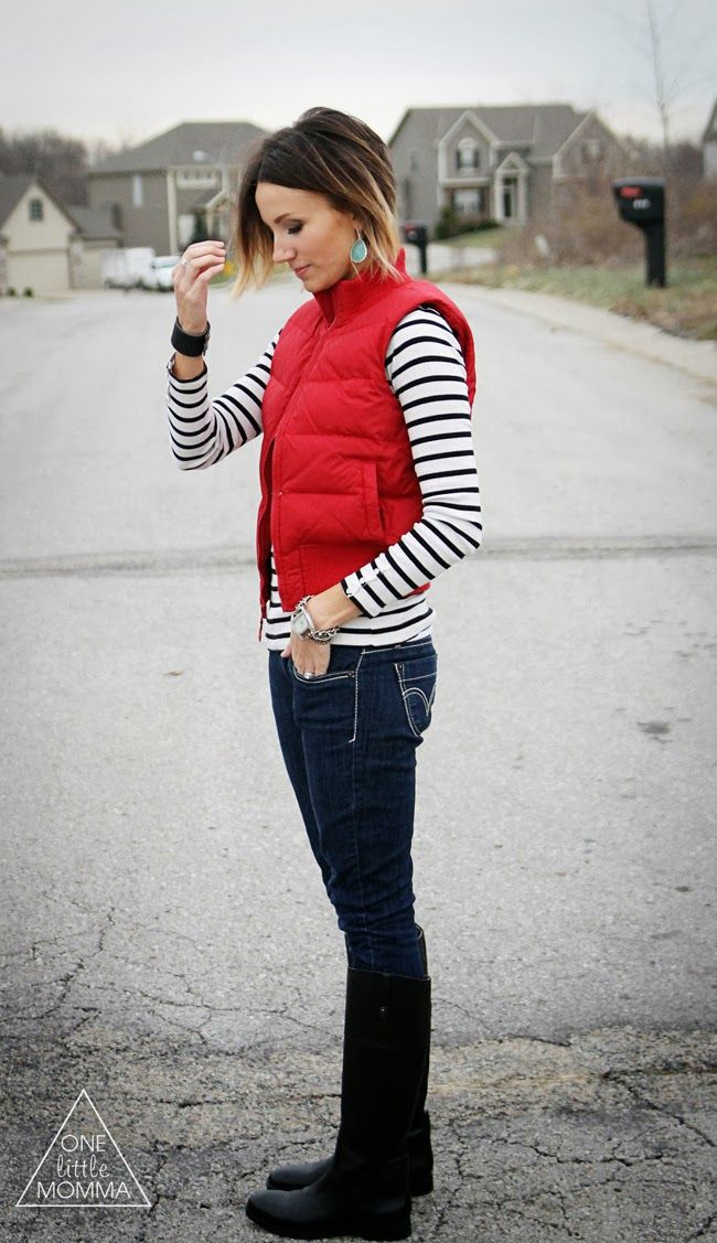 How To Wear A Puffer Vest The Fashion Foot