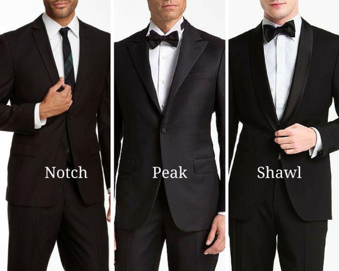 Which lapel shape should you choose?