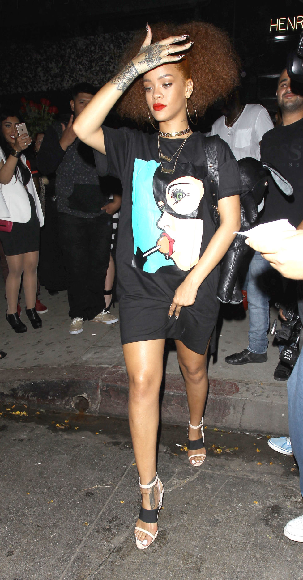Celeb Fashion Stalk Talk Rihanna The Fashion Foot
