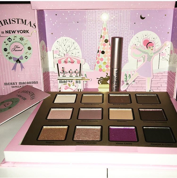 Too Faced Winter 2016 Christmas In New York The Fashion Foot