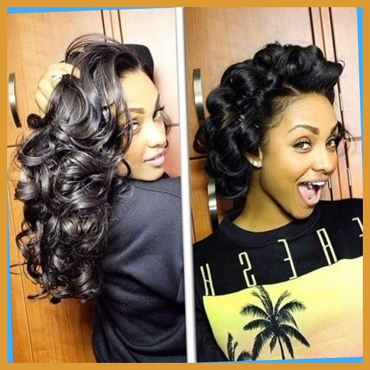 Pin Curls Long Hair Styles: The Fashion Foot