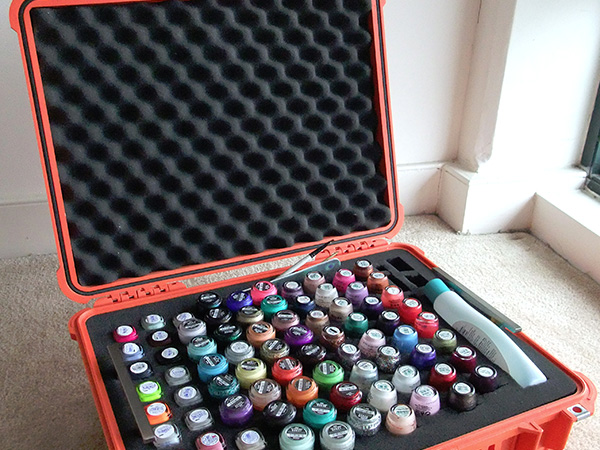 Container Store Nail Polish Storage Creative Touch